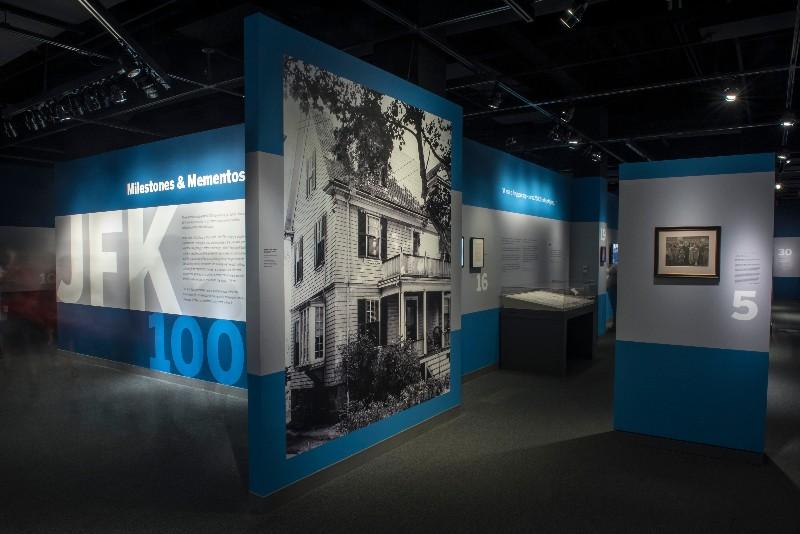 19001a9f5c8 JFK 100  Milestones and Mementos Opening